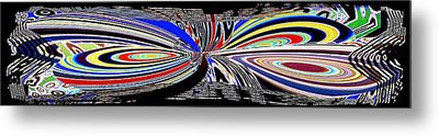 Abstract Fusion 197 Metal Print by Will Borden