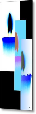 Abstract Fusion 220 Metal Print by Will Borden