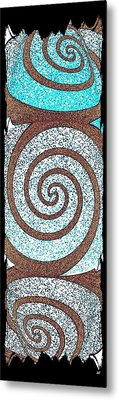 Abstract Fusion 231 Metal Print by Will Borden