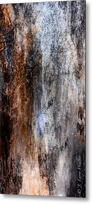 Abstract G - From Series 1 Metal Print by J Larry Walker