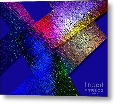 Abstract Geometry Art  Metal Print by Mario Perez