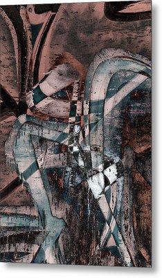Abstract Graffiti 1 Metal Print