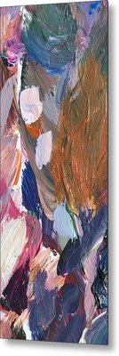 Abstract Heart Metal Print by David Lloyd Glover