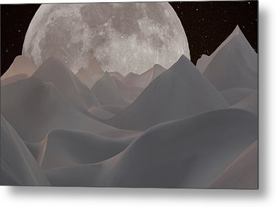 Abstract Landscape #3 Metal Print by Wally Hampton