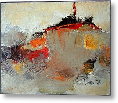 Abstract Lsndscape Metal Print by  Pemaro