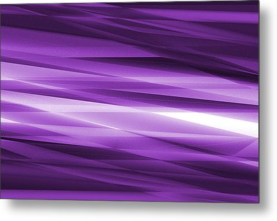 Abstract Modern Purple  Background Metal Print by Somkiet Chanumporn