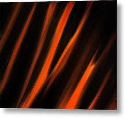 Abstract No 2 Tigris Surrexerunt Metal Print