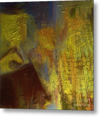 Abstract No. 228 Metal Print by Shesh Tantry