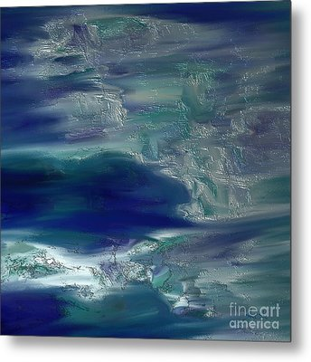 Abstract No. 230 Metal Print by Shesh Tantry