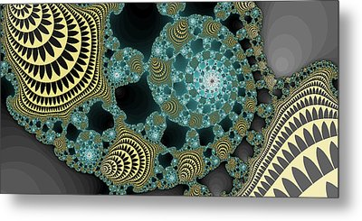 Abstract Number 9  Metal Print by James Hammen