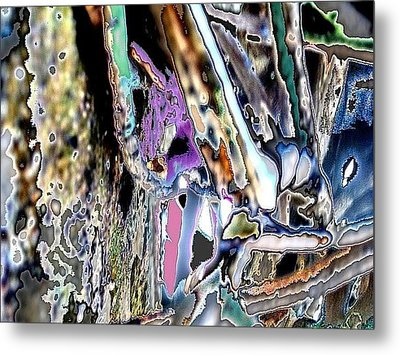 Abstract On Dream  Metal Print by Basant Soni