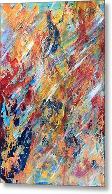 Abstract Painting Metal Print by AR Annahita