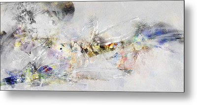 Abstract Painting - New Ideas  Metal Print