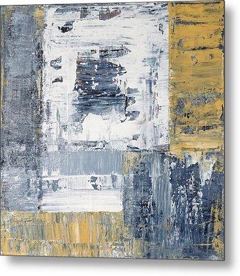 Abstract Painting No. 3 Metal Print by Julie Niemela