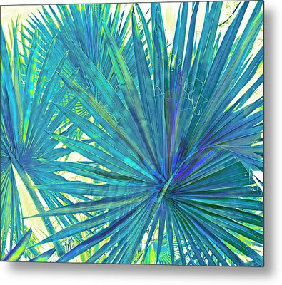 Abstract Palm 2 Metal Print by Jane Schnetlage