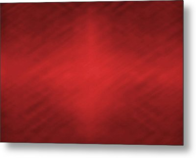 Abstract Red Motion Blur Background Metal Print by Somkiet Chanumporn