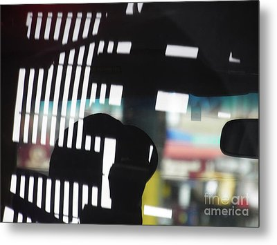 Abstract Reflection 18 Metal Print by Sarah Loft