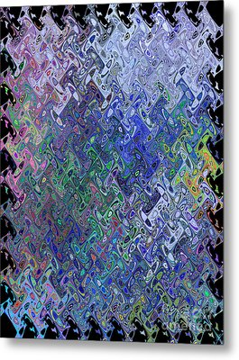 Abstract Reflections Metal Print by Robyn King