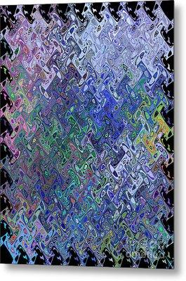 Abstract Reflections Metal Print