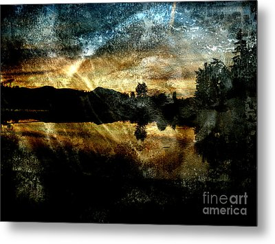 Abstract Sky 3 Metal Print by Jim Wright