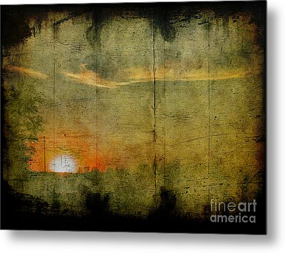 Abstract Sky 7 Metal Print by Jim Wright