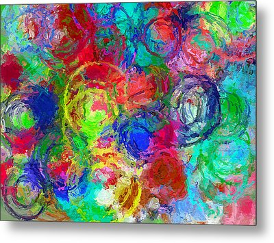 Abstract Space 4 Metal Print by Yury Malkov