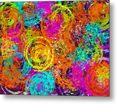 Abstract Space 6 Metal Print by Yury Malkov