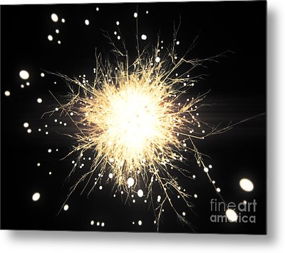 Abstract Sparkle Metal Print by Pixel Chimp