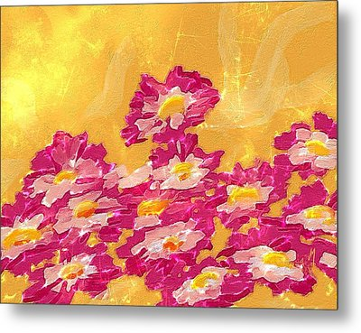 Abstract Spring Metal Print by Veronica Minozzi