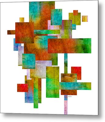 Abstract Study 21 Abstract -art Metal Print by Ann Powell