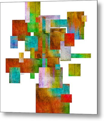 Abstract Study 22 Abstract- Art Metal Print by Ann Powell