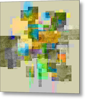 Abstract Study 26 Metal Print by Ann Powell