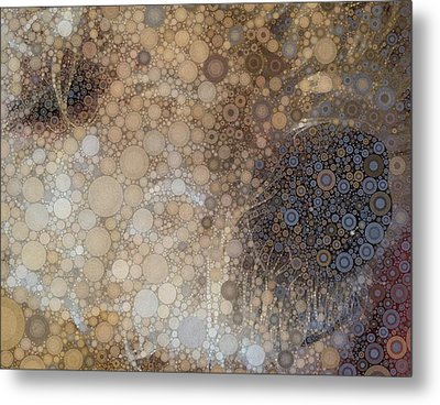 Abstract Study Of The Nose Of The Bichon Frise Metal Print by Susan Maxwell Schmidt