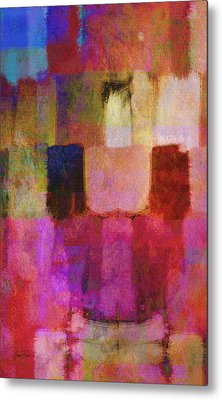 Abstract Study Two Metal Print by Ann Powell