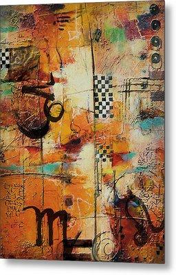 Abstract Tarot Art 010 Metal Print by Corporate Art Task Force