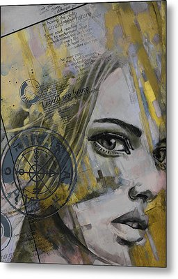 Abstract Tarot Art 022b Metal Print by Corporate Art Task Force