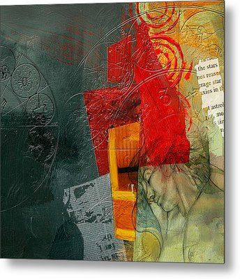 Abstract Tarot Card 004 Metal Print by Corporate Art Task Force