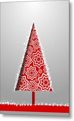 Christmas Card 21 Metal Print