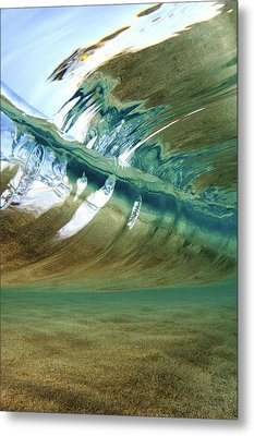 Abstract Underwater 2 Metal Print by Vince Cavataio - Printscapes