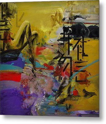 Abstract Women 016 Metal Print by Corporate Art Task Force