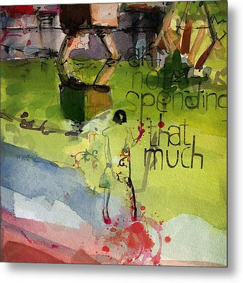 Abstract Women 023 Metal Print by Corporate Art Task Force
