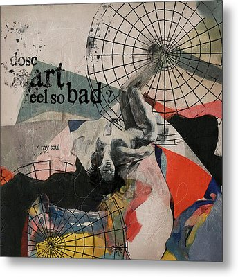 Abstract Women 024 Metal Print by Corporate Art Task Force