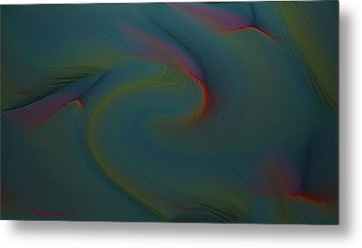 Abstract-x-3 Metal Print by Ines Garay-Colomba