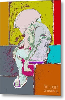 Abstraction 113 Metal Print by Patrick J Murphy