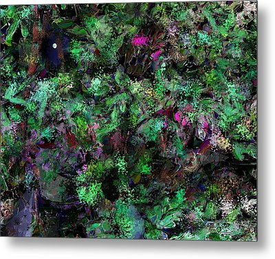 Metal Print featuring the digital art Abstraction 121514 by David Lane