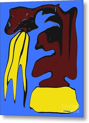Abstraction 229 Metal Print by Patrick J Murphy