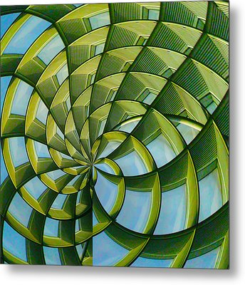Metal Print featuring the photograph Abstraction A La M. C. Escher by Gary Holmes