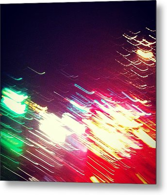 Abstraction Distraction For Mka Metal Print