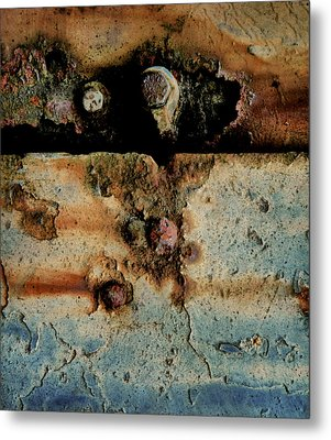 Abstraction Gap Abstraction Metal Print by Odd Jeppesen