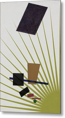 Metal Print featuring the photograph Abstractions by Allen Beilschmidt